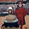 Kerry & ? at Hells Gate in Rotorua.
