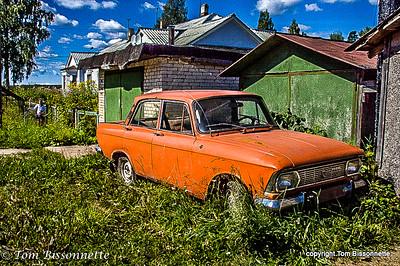 Russian Lada 1500
