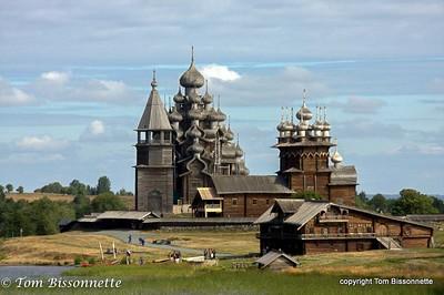 Leaving Kizhi Island, Russia
