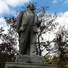Slightly corroded Lenin