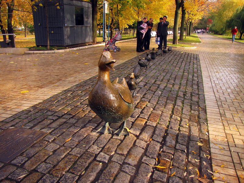 Getting your ducks in order - Novodevichy Monastery (New Maiden Convent)  - Moscow