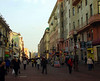 The Arbat is an approximately one-kilometer long pedestrian street in the historical centre of Moscow