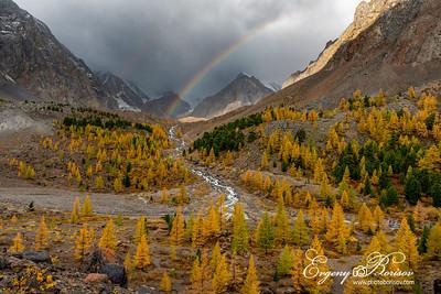 Rainbow on Aktru
