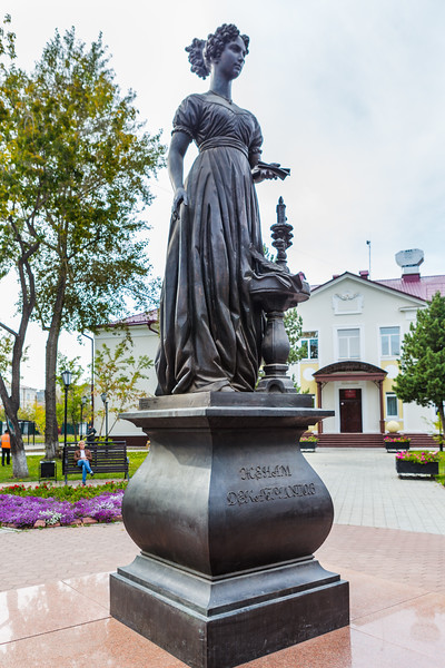Monument to the wives of the Decembrists