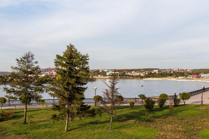 Lower Embankment of Angara