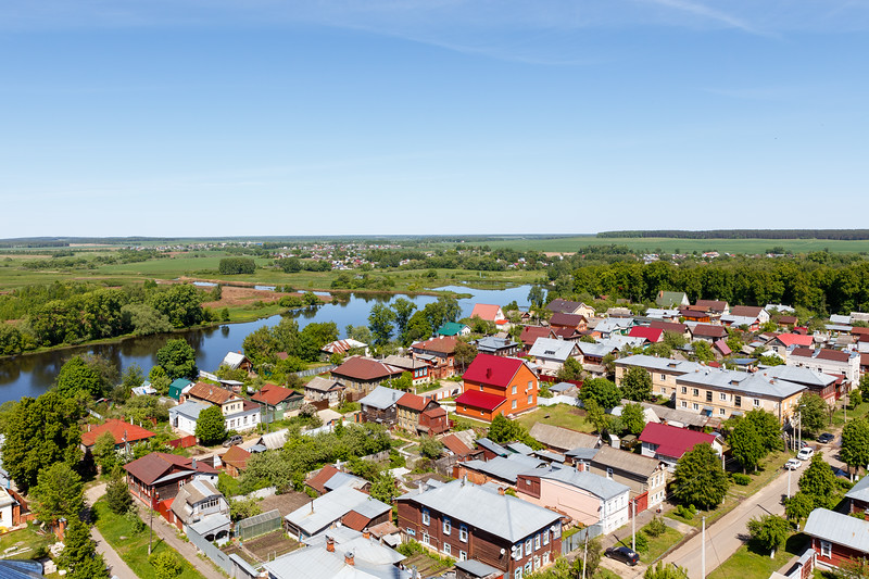 View of the city of Shuya