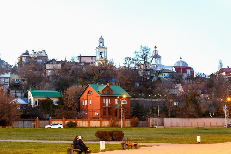 View of the Nikolskoye microdistrict
