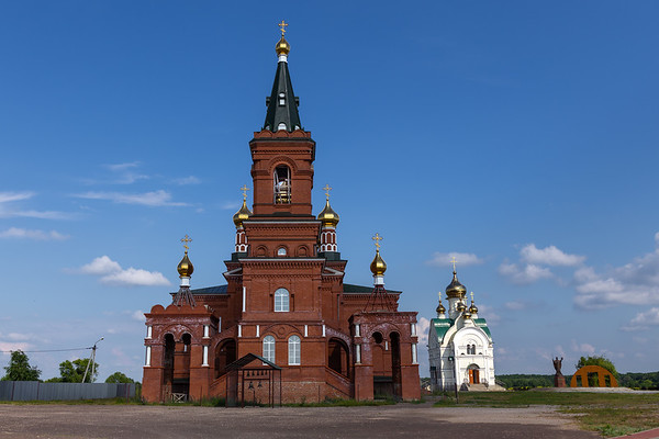 Orthodox church of St. Nicholas.