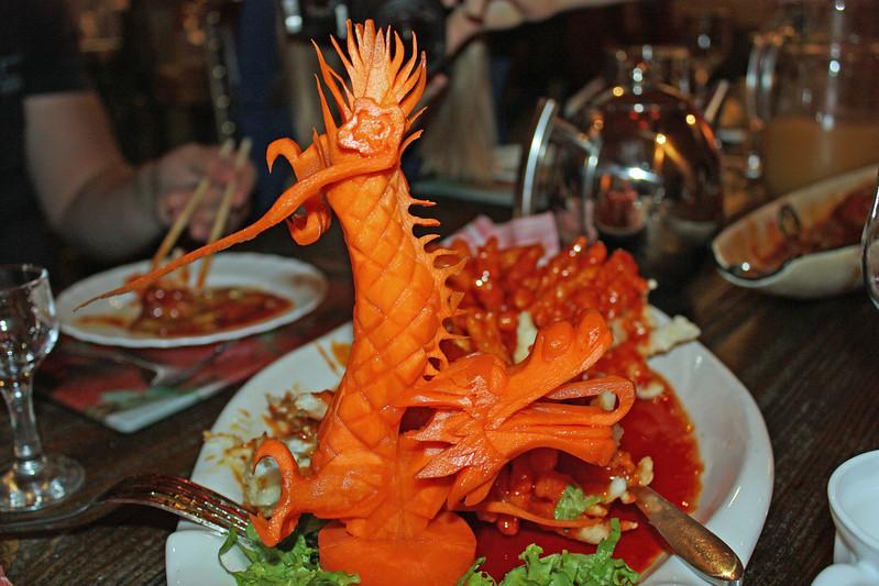 Carrot dragon.
