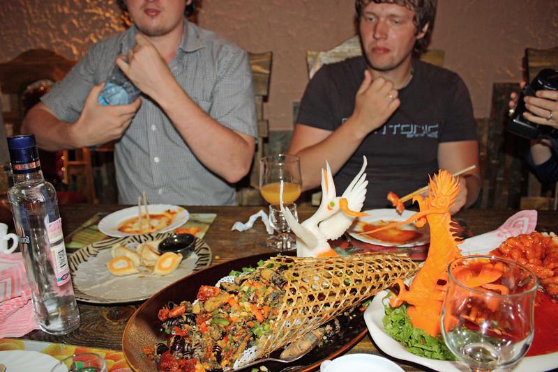 Days & nights of gluttony at Li Lihua's restraurants.