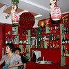 Interior of another of Li Lihua's restaurants.