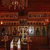 Church iconostasis.
