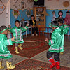 Learning traditional Evenk dance.