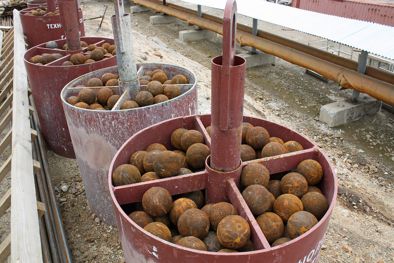 These balls grind the earth.
