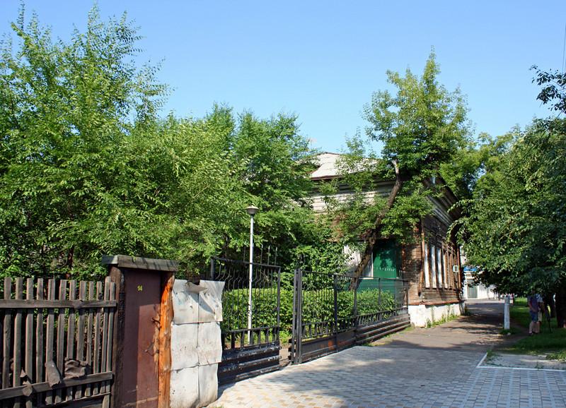 Street in Blagoveshchensk.