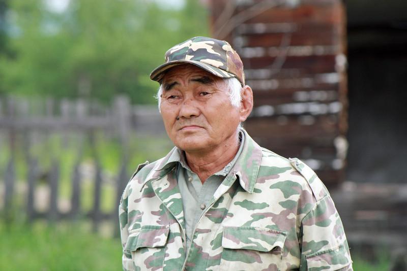 Один из старейшин в Ивановском.