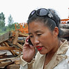 Li Lihua - a busy woman on the phone.