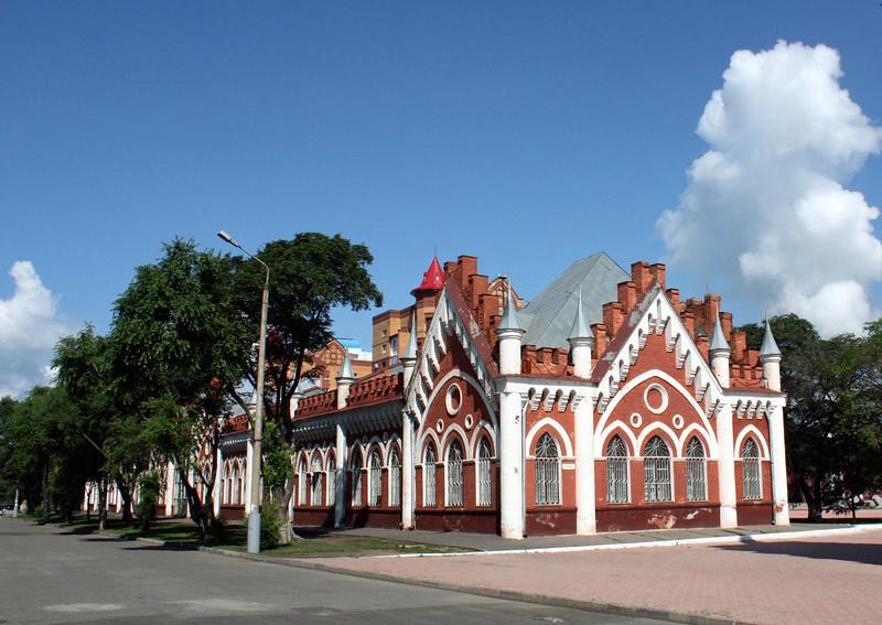 Blagoveshchensk trading rows.