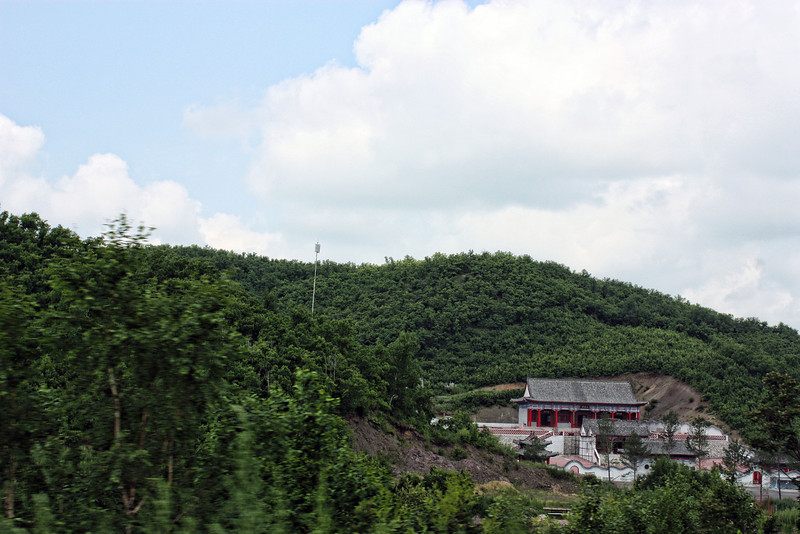 Temple in the Heihe countryside.