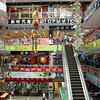 Heihe shopping center. Like most border towns, everything's in Chinese & Russian.