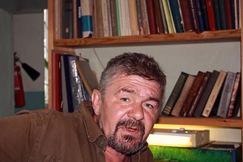 Yuri Bolotsky who first discovered dinosaur bones in Blagoveshchensk. Юрий Болотский, палеонтолог.