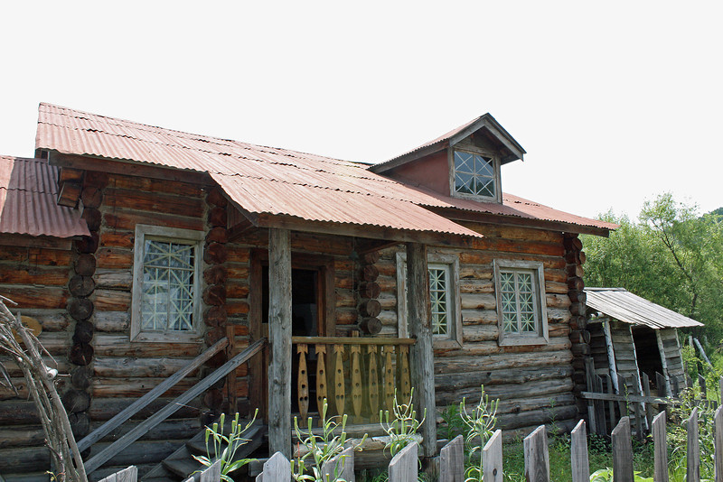 Russian house in Heihe, China's Russian Village.