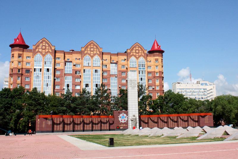 Blagoveshchensk War Memorial.
