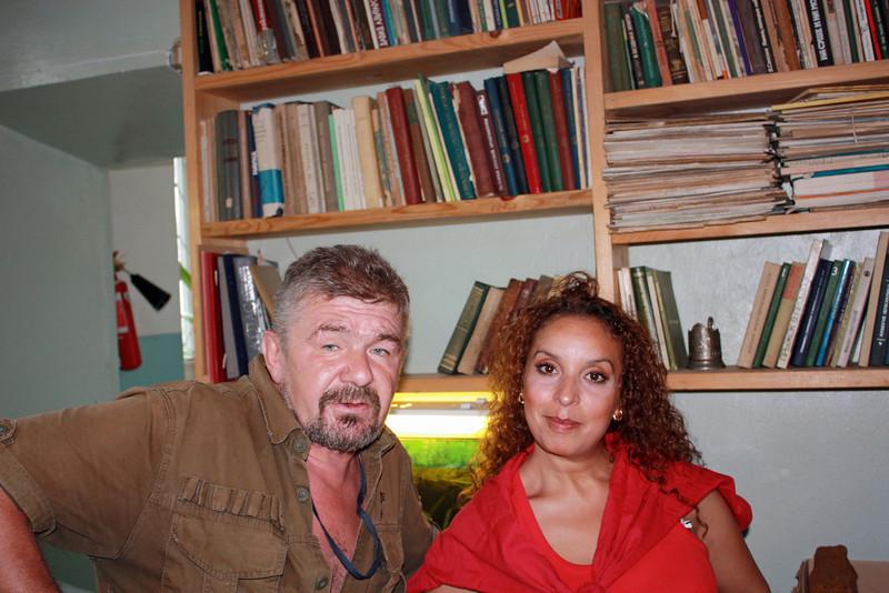 Wafaa & Yuri Bolotsky.