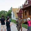 Russian village in Heihe. Русская деревня в пригороде Хайхэ.
