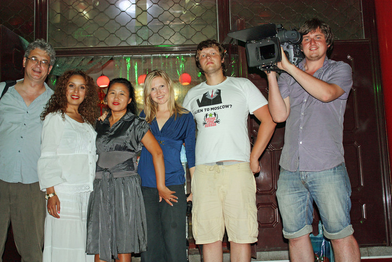 RT crew with Li Lihua.