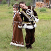 This man is a choreographer who's helping preserve traditional Evenk dance in Ivanskoye.
