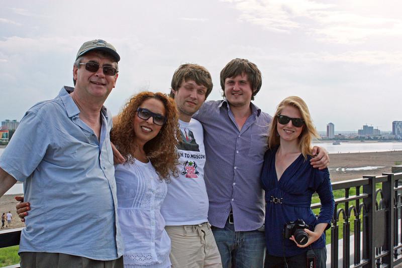 RT crew in Blagoveshchensk.