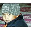 Kyrgz boy in a Bishkek mosque.
