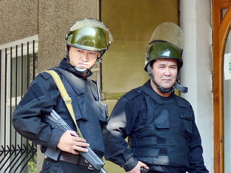 "Private guards. Бойцы частного охранного агентства ""Бастион"""