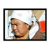 Women worker in the Bishkek market.