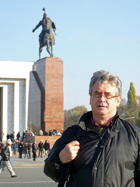 Rustem in the center of Bishkek.