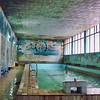 Mineral salts swimming pool. This was probably a nice pool once upon a time.