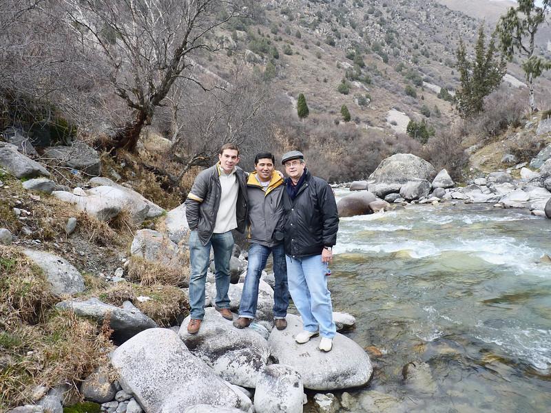Misha, Azat & Rustem.
