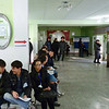 Waiting to vote in the 2011 Presidential election. На избирательном участке в день президентских выборов. Бишкек, Кыргызстан,