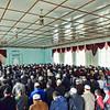 At prayer. Пятничная молитва в мечети Бишкека.