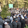 "Praying during the ""Festival of Sacrifice"" (Kurban-Ait) which celebrates the willingness of Abraham to sacrifice his son."