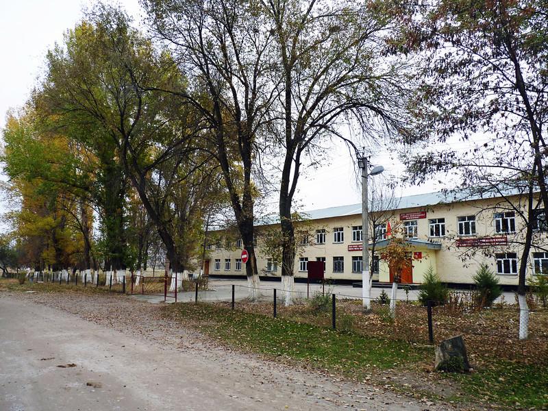 School in the village of Mramornoe. Школа в деревне Мраморное