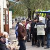 On the street in Bishkek.
