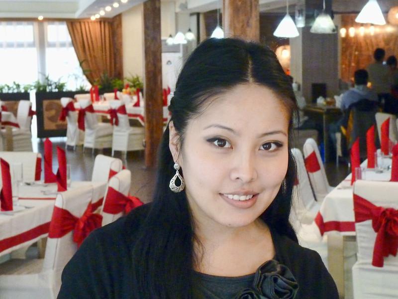 Restaurant hostess.