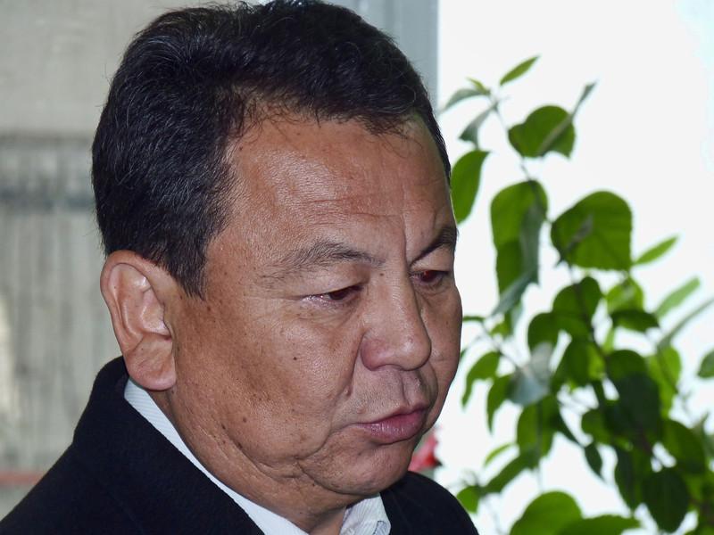 Presidential candidate, Omurbek Syvanaliev. Омурбек Суваналиев, генерал милиции, кандидат в президенты.