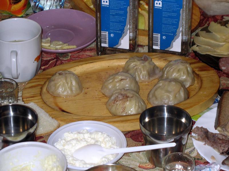 Traditional dumplings - mantee.