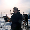 Fishing on Baikal.