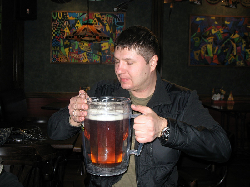A large beer, please!