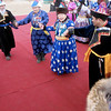 Dancing on the red carpet. (Buryatia, Russia)