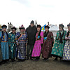 Rustem with Buryat women.